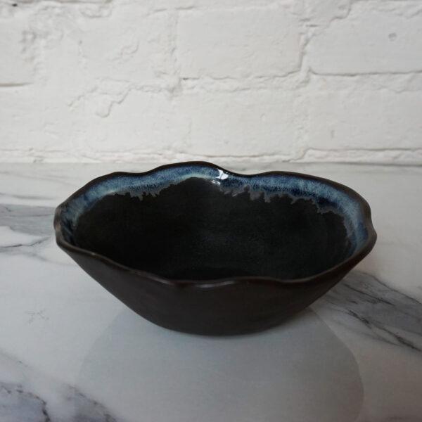 Глубокая керамическая Миска Этно Бали Пантера