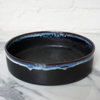 Черная керамическая Тарелка Next Пантера D220 H60