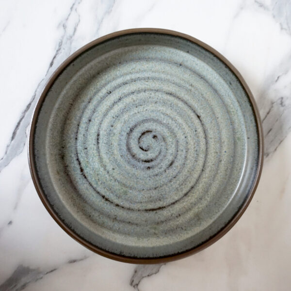Разноцветная Тарелка из керамики Next D220 H35 Бали Moon Sea