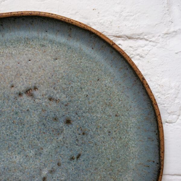 Красивая Тарелка из керамики круглая Casual Гавайи Moon Sea