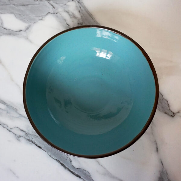Синий Салатник боул Basic Бали Тиффани