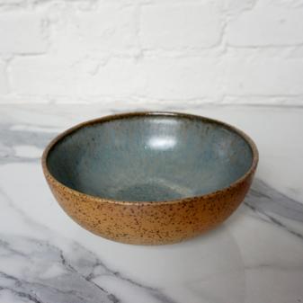 Глубокий Салатник боул из каменной керамики Гавайи Moon Sea