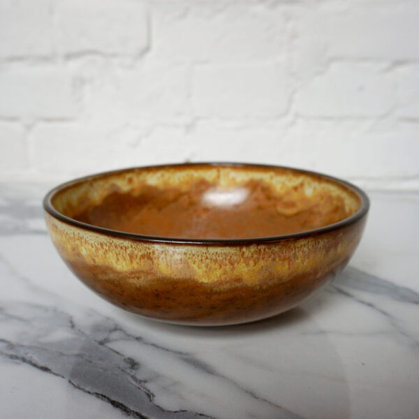 Салатник боул из каменной керамики Сахара