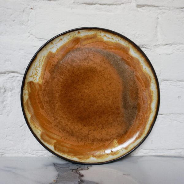 Тарелка круглая песочного цвета Casual Бали Сахара