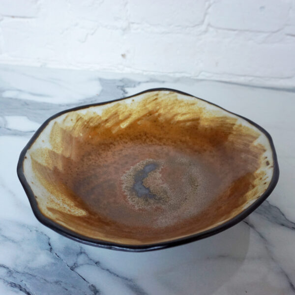 Салатник песочного цвета Этно Сахара