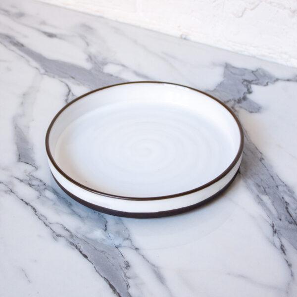 Белая керамическая Тарелка Next White Bali D220 H35