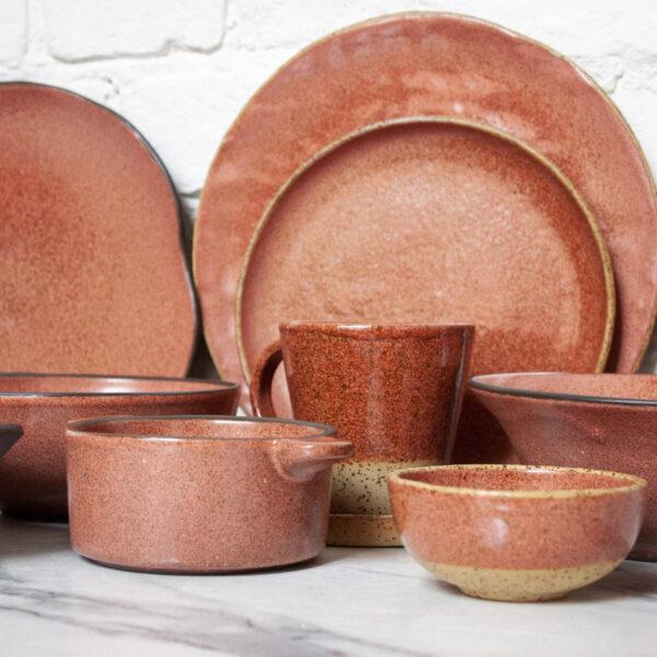 Набор посуды из керамики Casual Гавайи Коралл