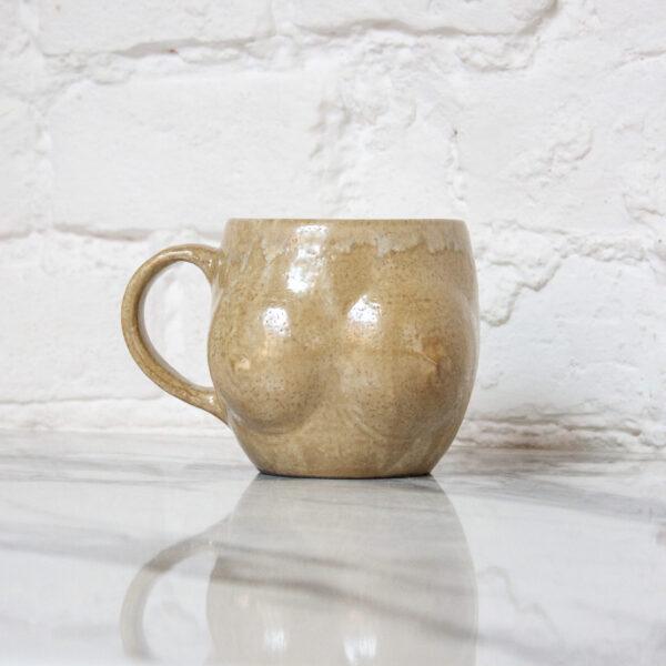 Кружка из каменной керамики 18+