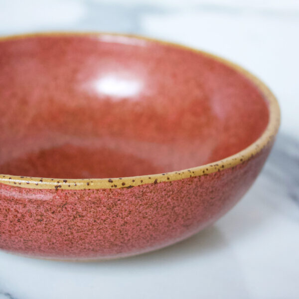 Салатник боул коричневого цвета Гавайи Коралл