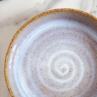 Цветная Тарелка из каменной керамики Next Moon Stone D220 H60
