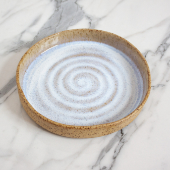 Стильная керамическая Тарелка Next Moon Stone D220 H35