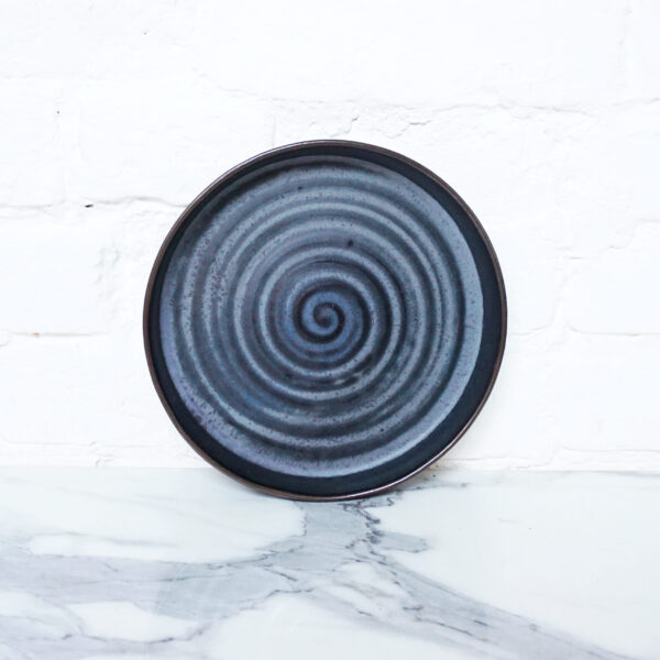 Керамическая Тарелка Next D220 H35 Серый сатин