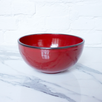 Салатник боул из керамики Бали Red