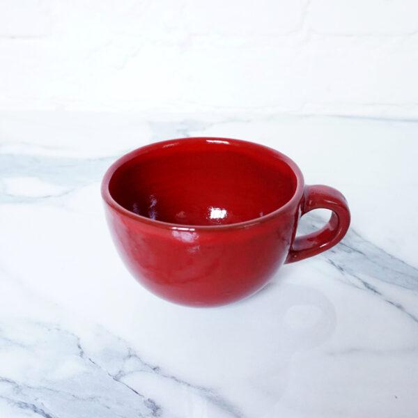 Керамическая Чашка Крафт Red