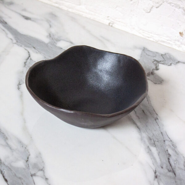 Миска из каменной керамики Этно Grafit