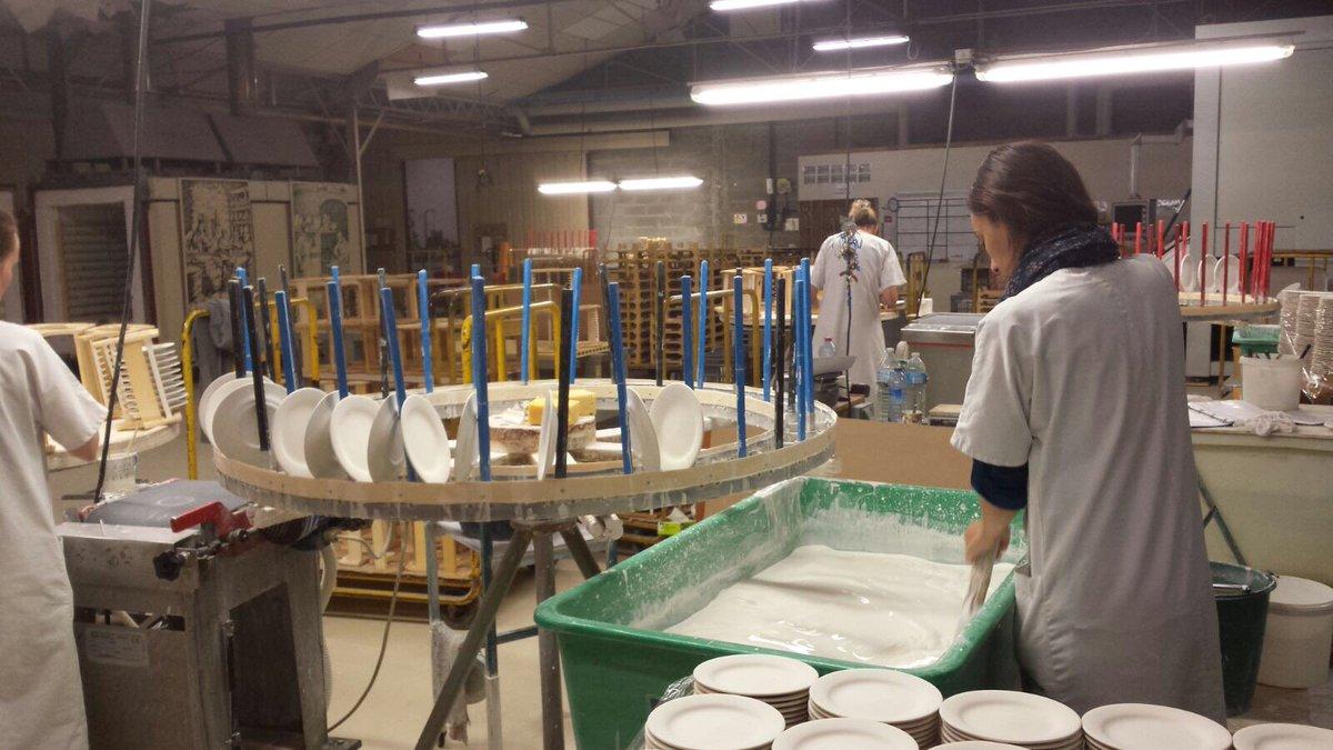 Фаянсовая фабрика посуды