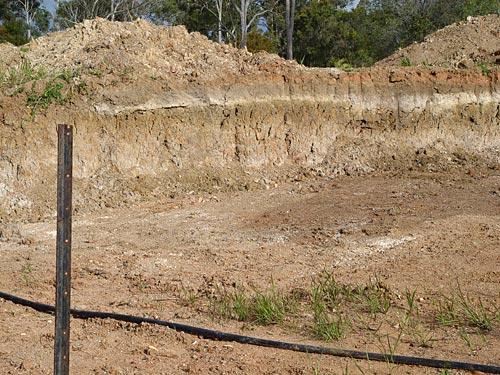 Месторождение по добыче шамотной глины