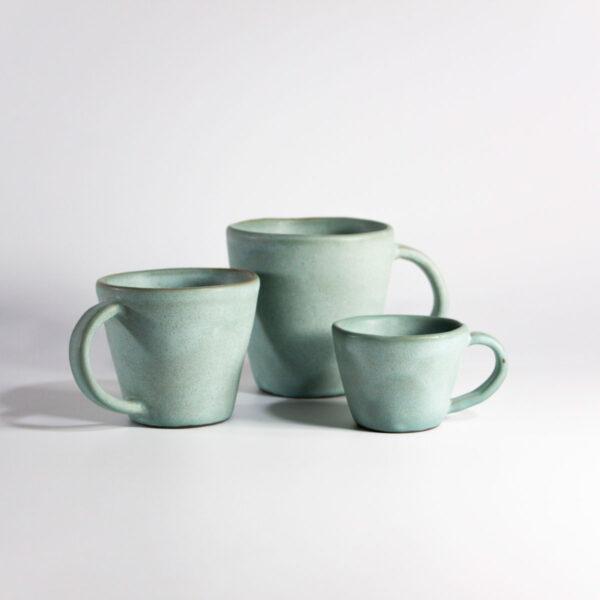 Чашки Кантри Бирюза